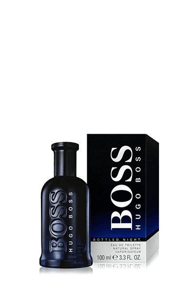 ادکلن مردانه هوگو باس مدل Bottled Night حجم 100 میلیلیتر